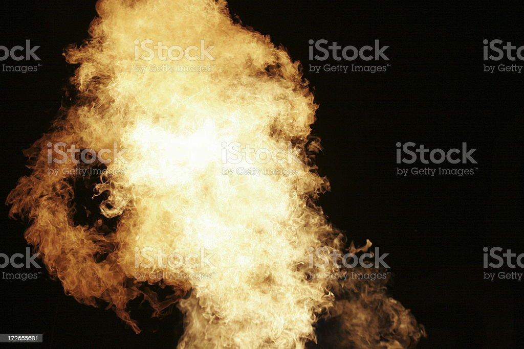Fireball! royalty-free stock photo