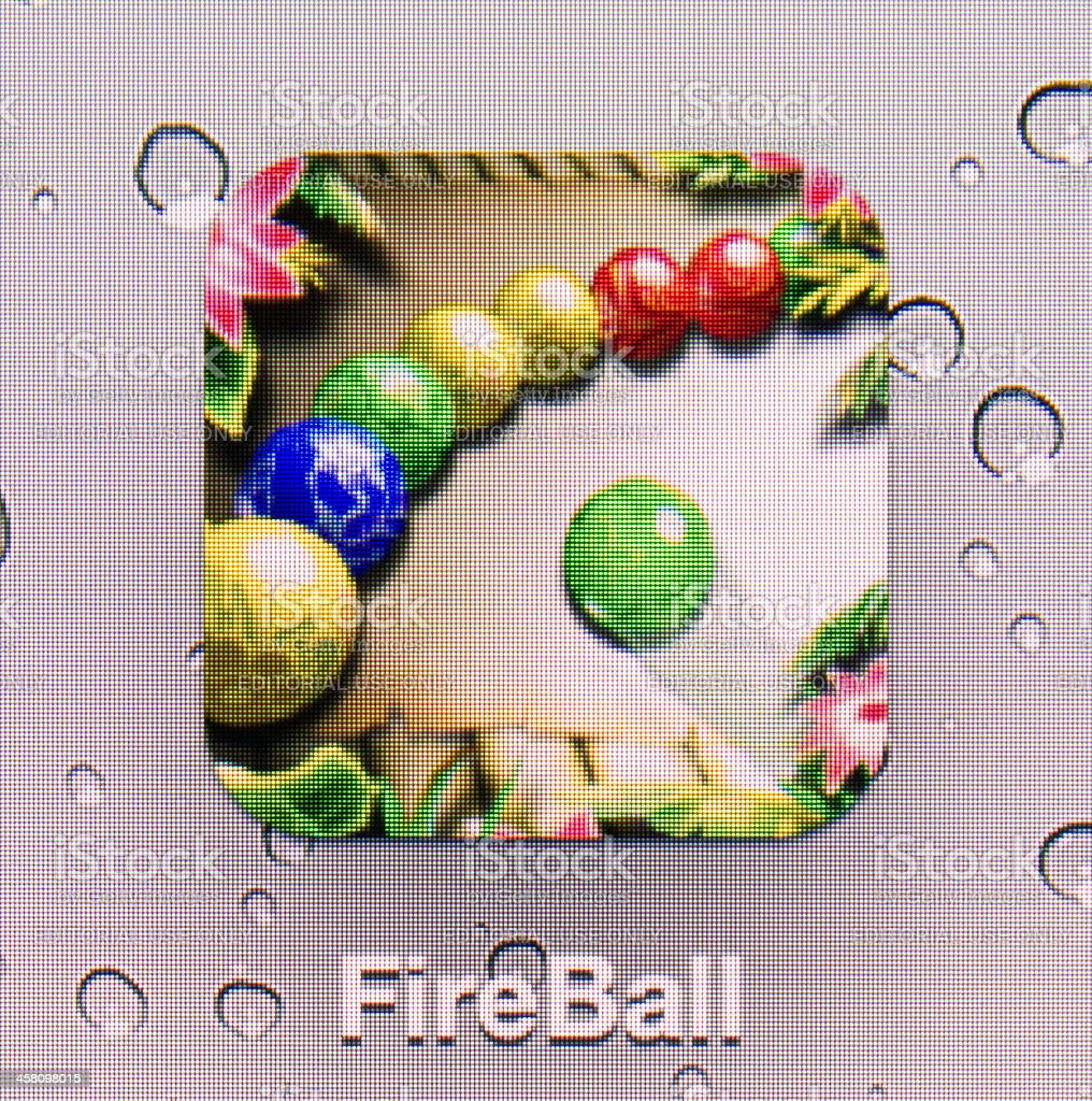FireBall royalty-free stock photo