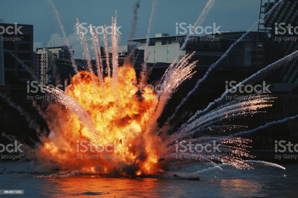 Bola de fogo - foto de acervo
