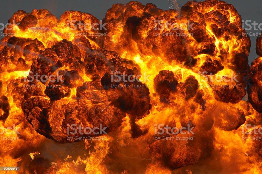 Fireball royalty-free stock photo