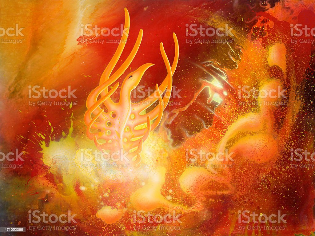 firebird royalty-free stock photo