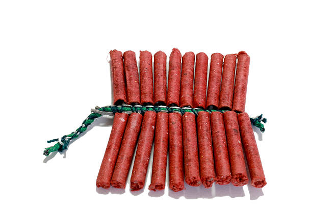firecracker - petard stock photos and pictures