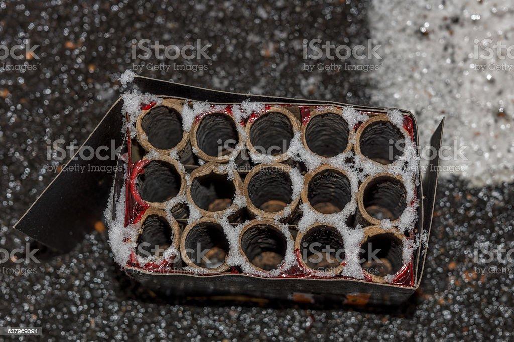 Firecracker stock photo