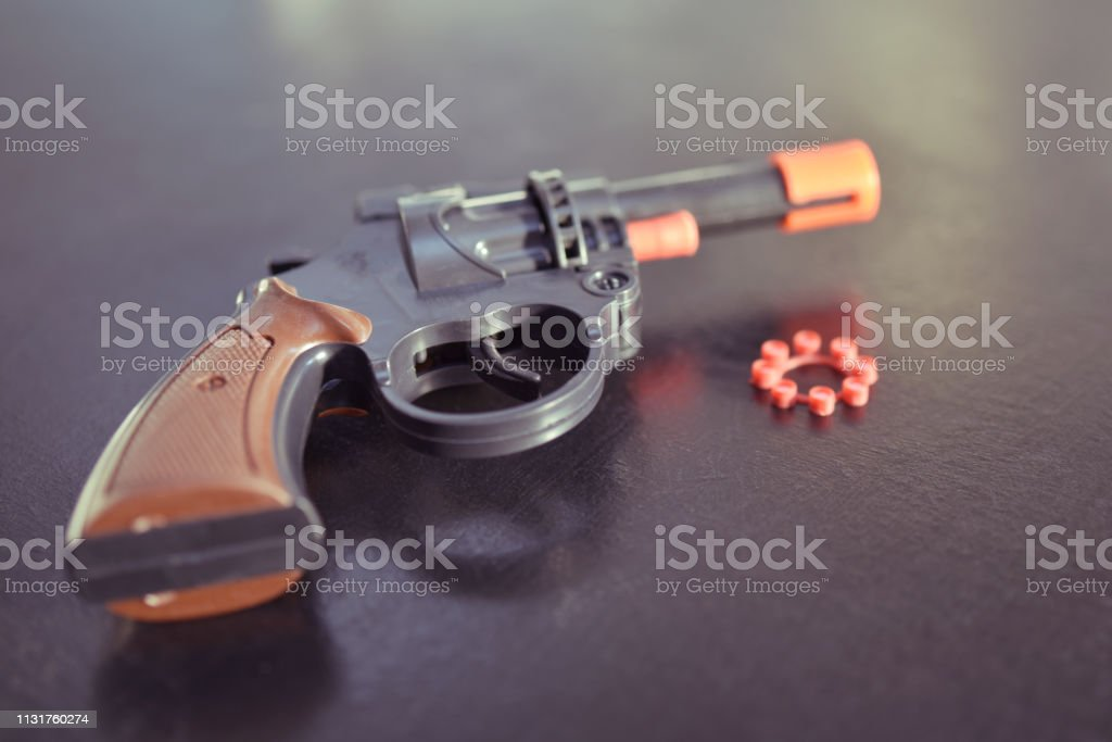 Firecracker Revolver Stock Photo & More Pictures of Close-up - iStock