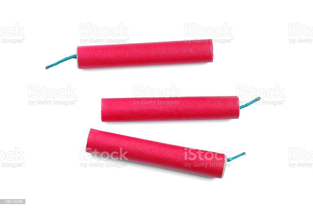 Firecrackers royalty-free stock photo