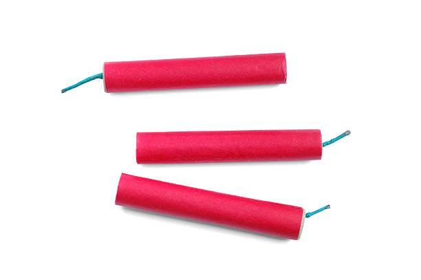 Firecrackers stock photo