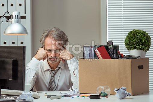 1048789678istockphoto Fired businessman 903636206