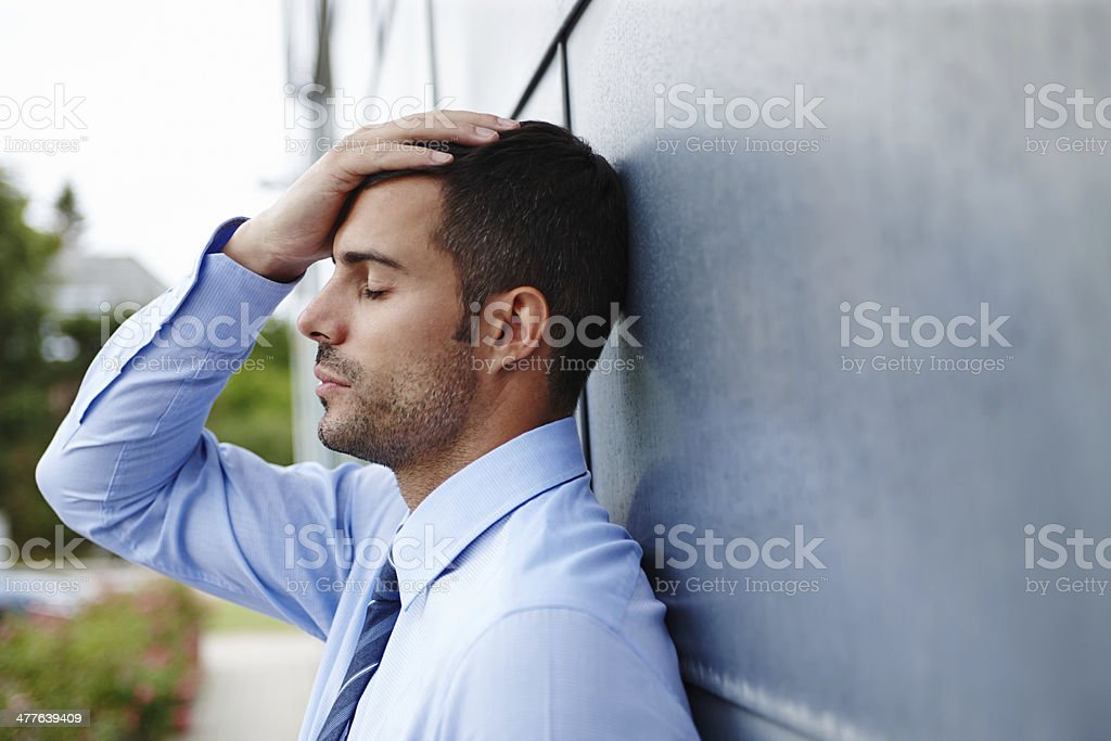 Fired... stock photo