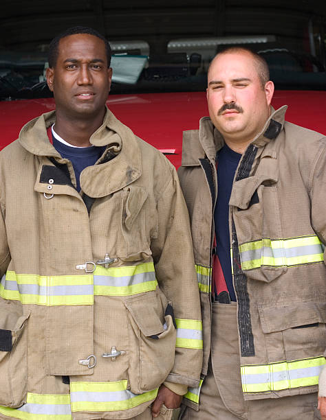 Firefighter 6 stock photo
