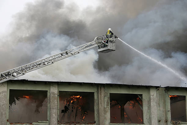 firefighter on duty #3 - disconcert stock pictures, royalty-free photos & images