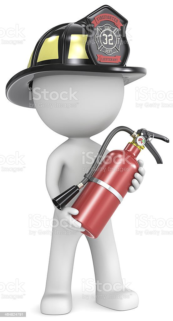 Firefighter. royalty-free stock photo