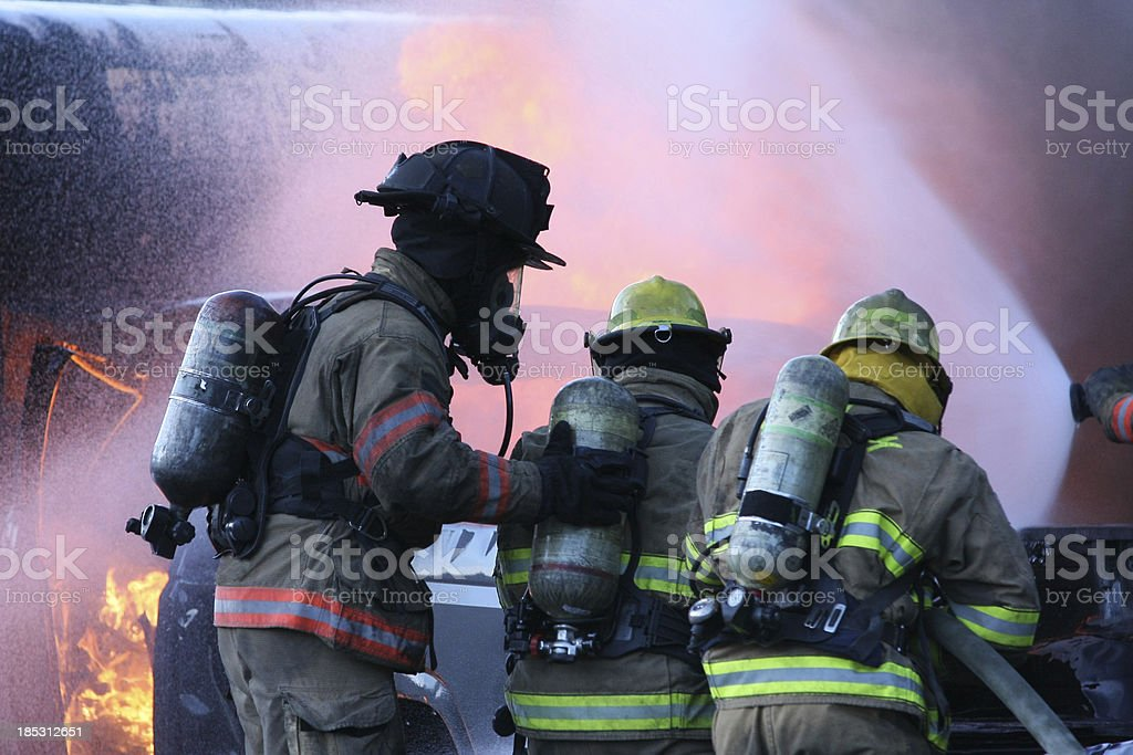 Firefighters Equipment stock photo