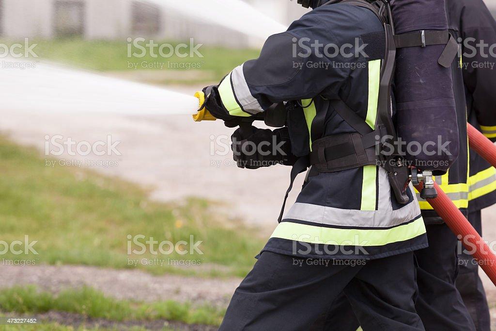 Feuerwehrleute – Foto