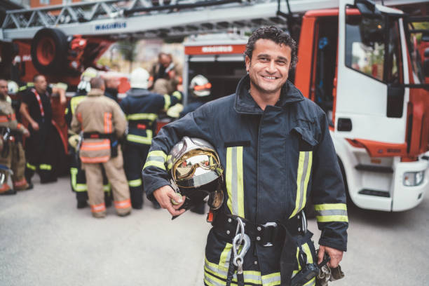 Feuerwehrporträt – Foto