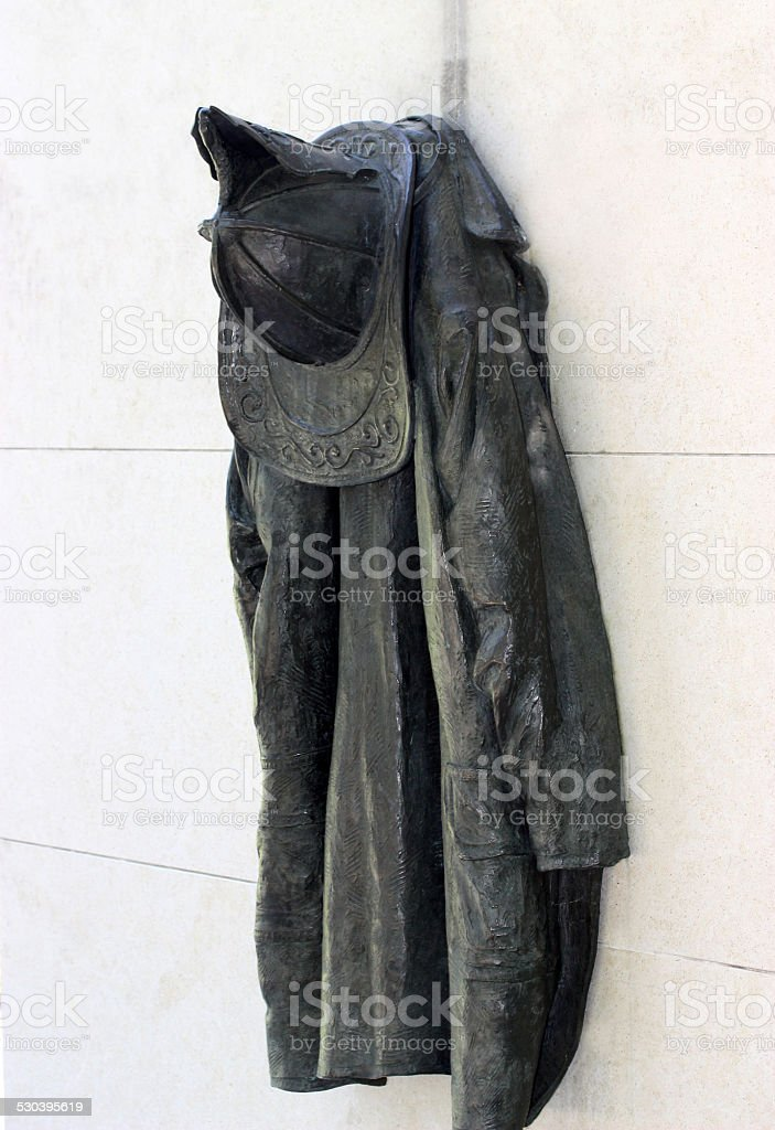 Bombero uniforme - foto de stock