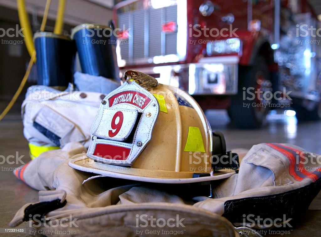 Firefighting Gear stock photo