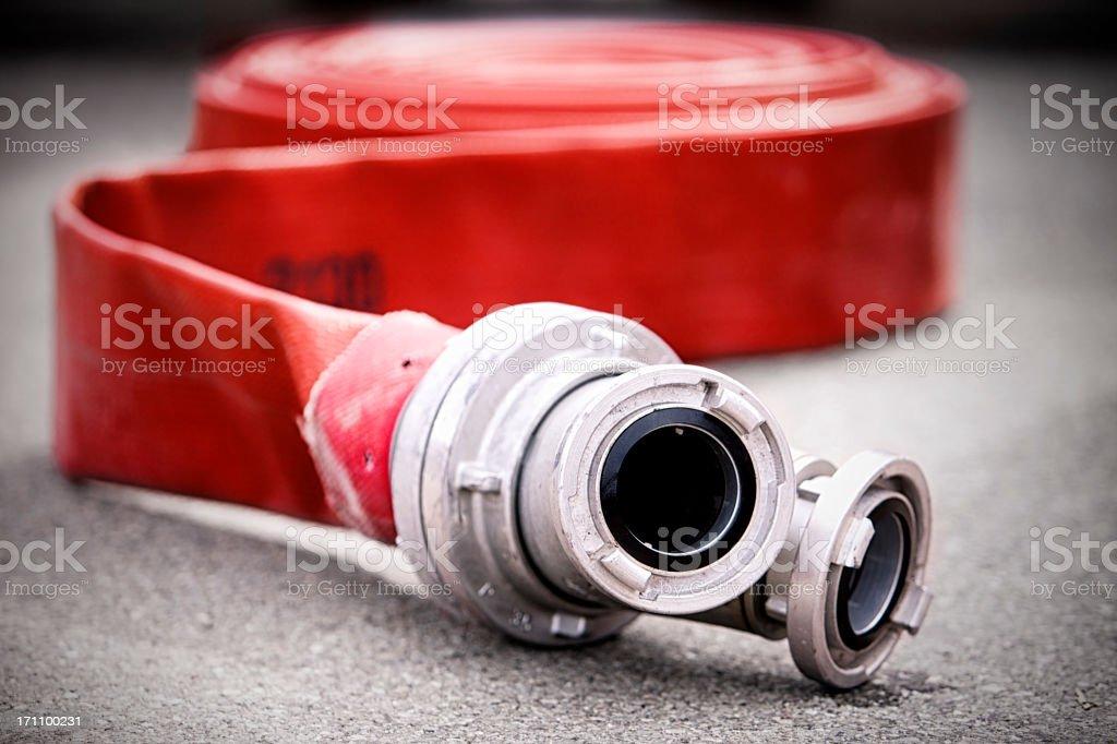 Firehose royalty-free stock photo