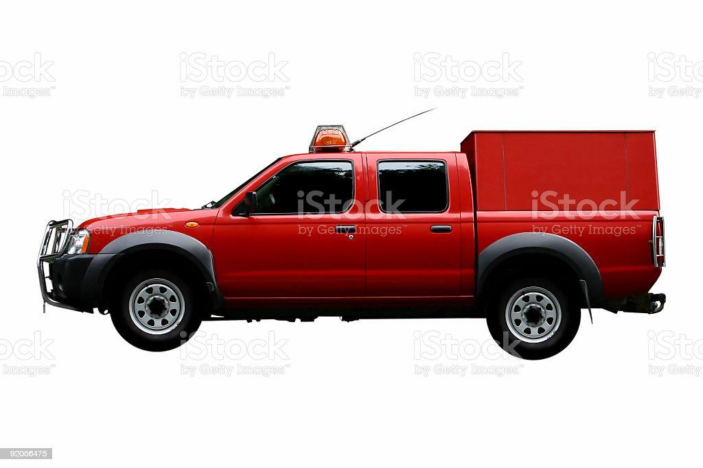 fireman car royalty-free stock photo