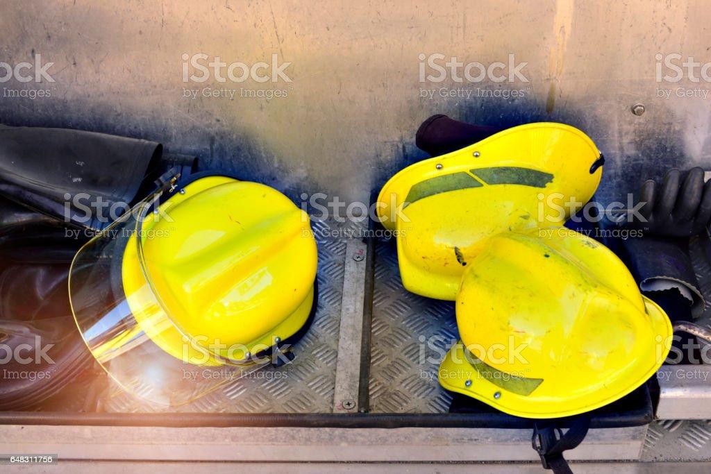 Fireman Hat. stock photo