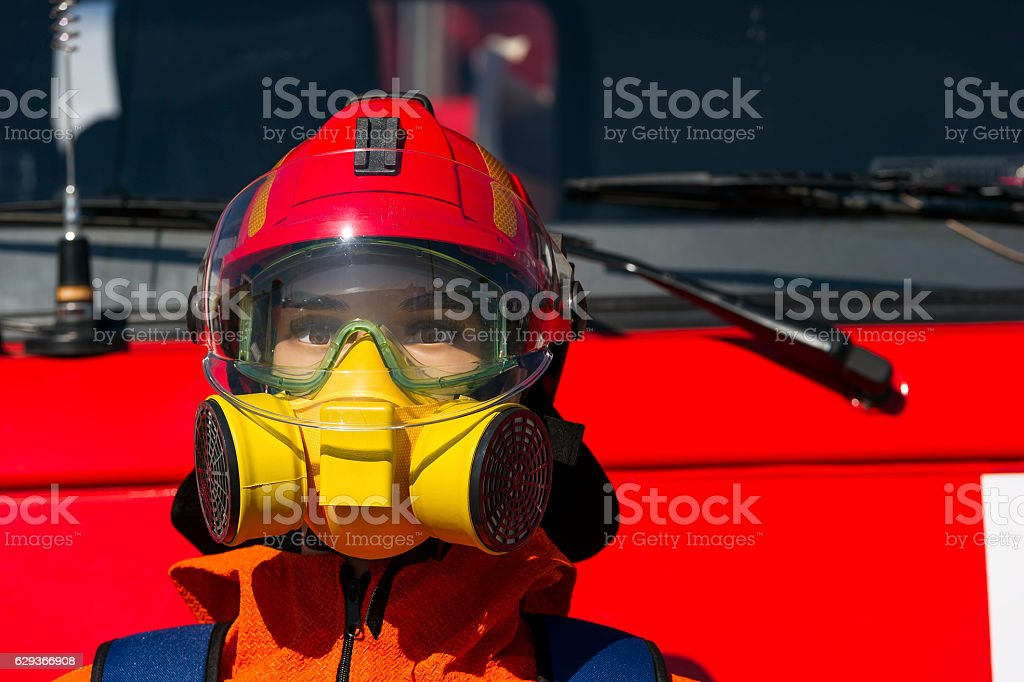 Fireman protective means – Foto