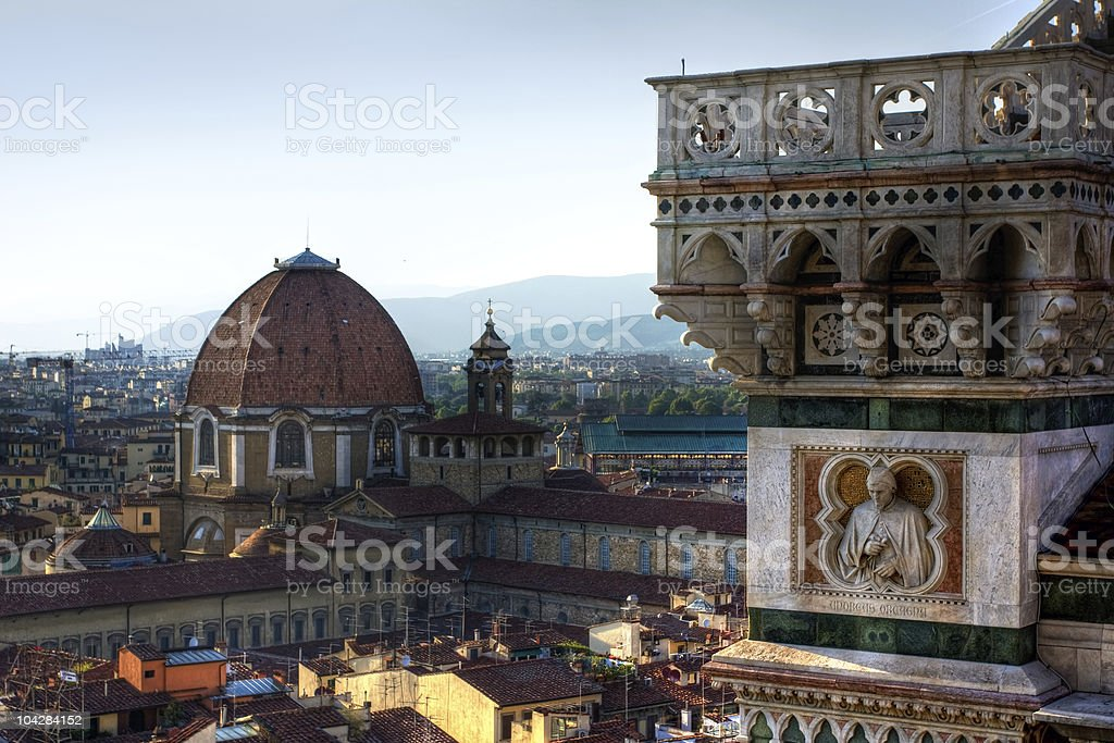 Firenze panoramic cityscape royalty-free stock photo