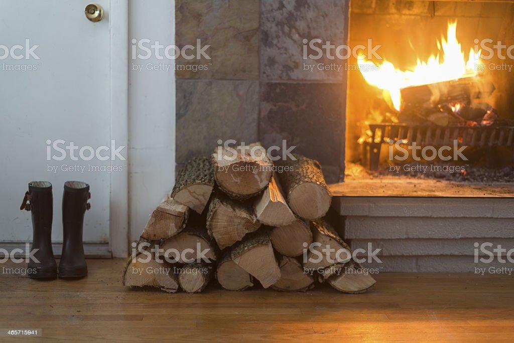 Offener Kamin – Foto