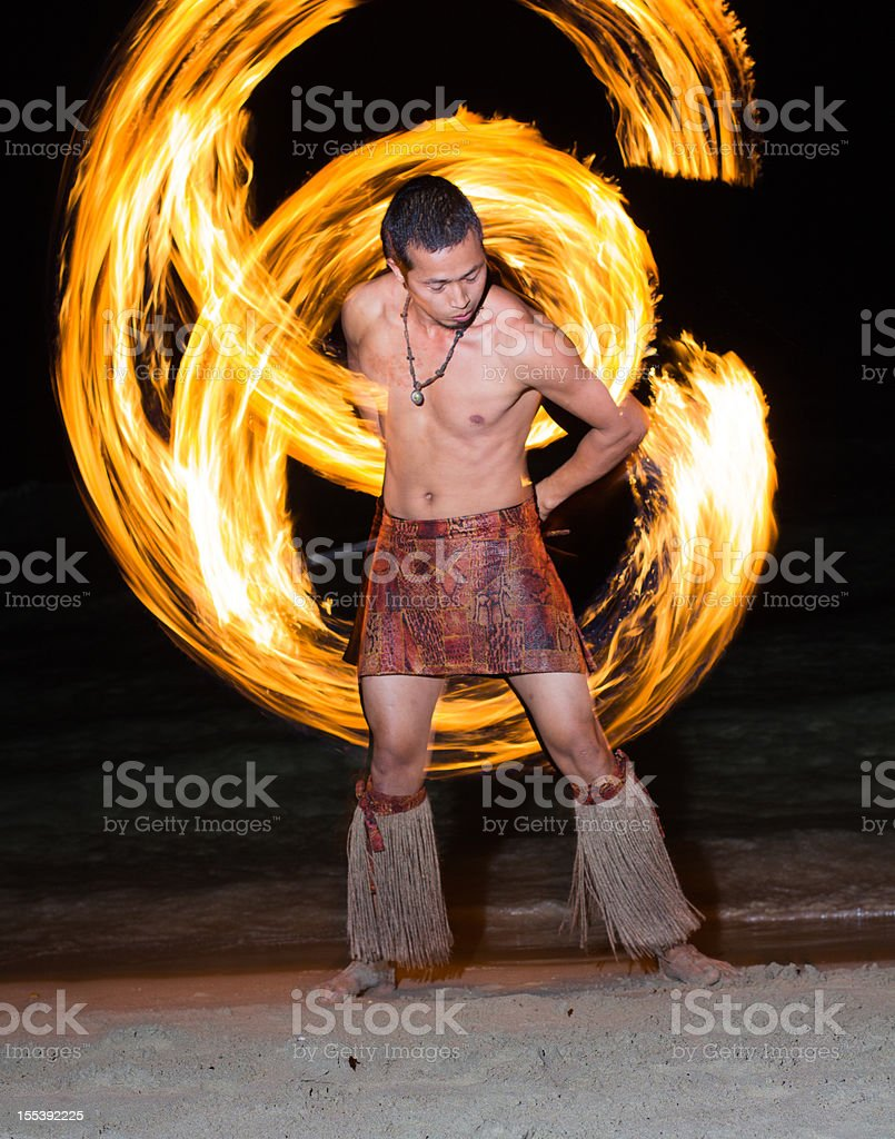 FireShow stock photo