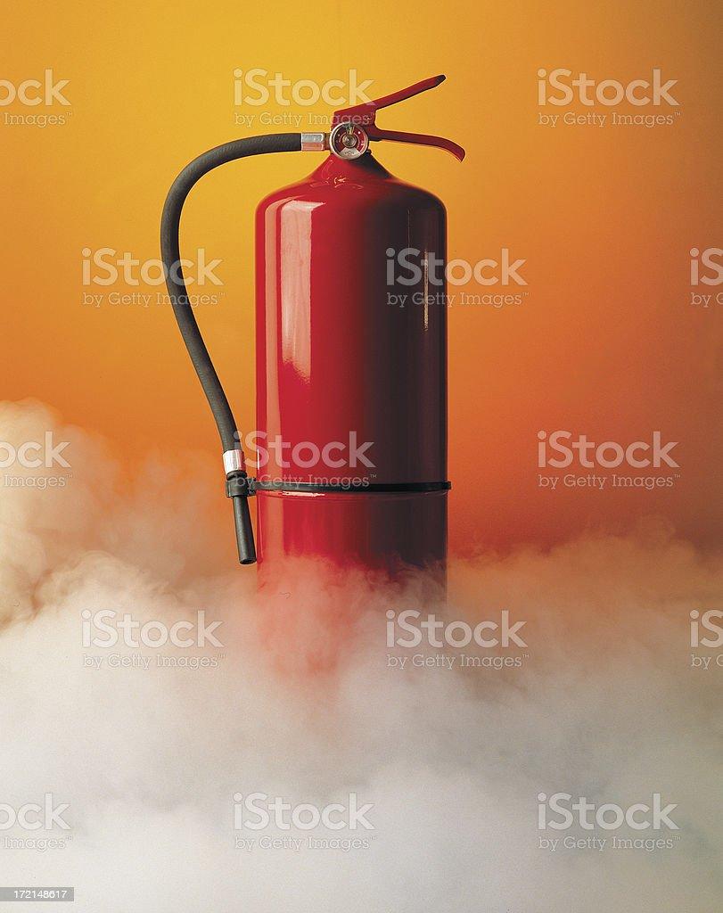 firesmoke royalty-free stock photo