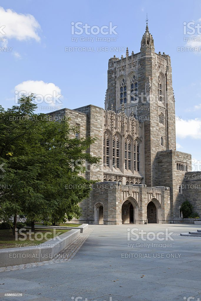 Firestone Library, Princeton University stock photo