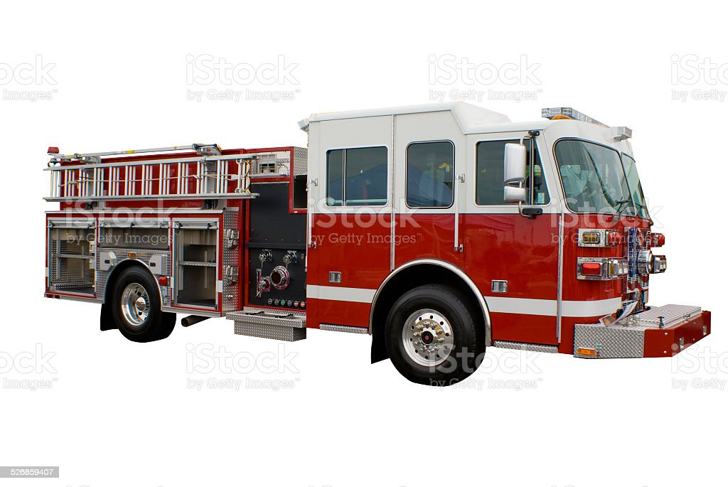 Firetruck bildbanksfoto