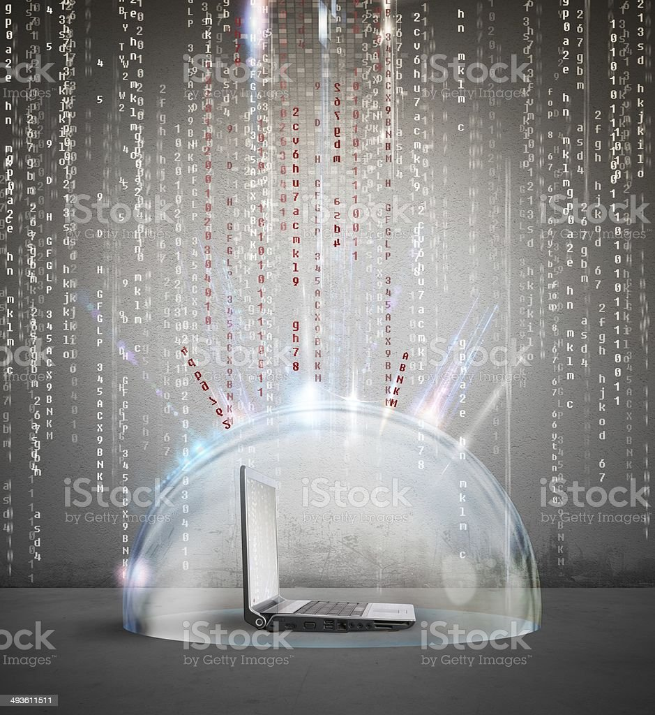 antivirus e Firewall concetto foto stock royalty-free