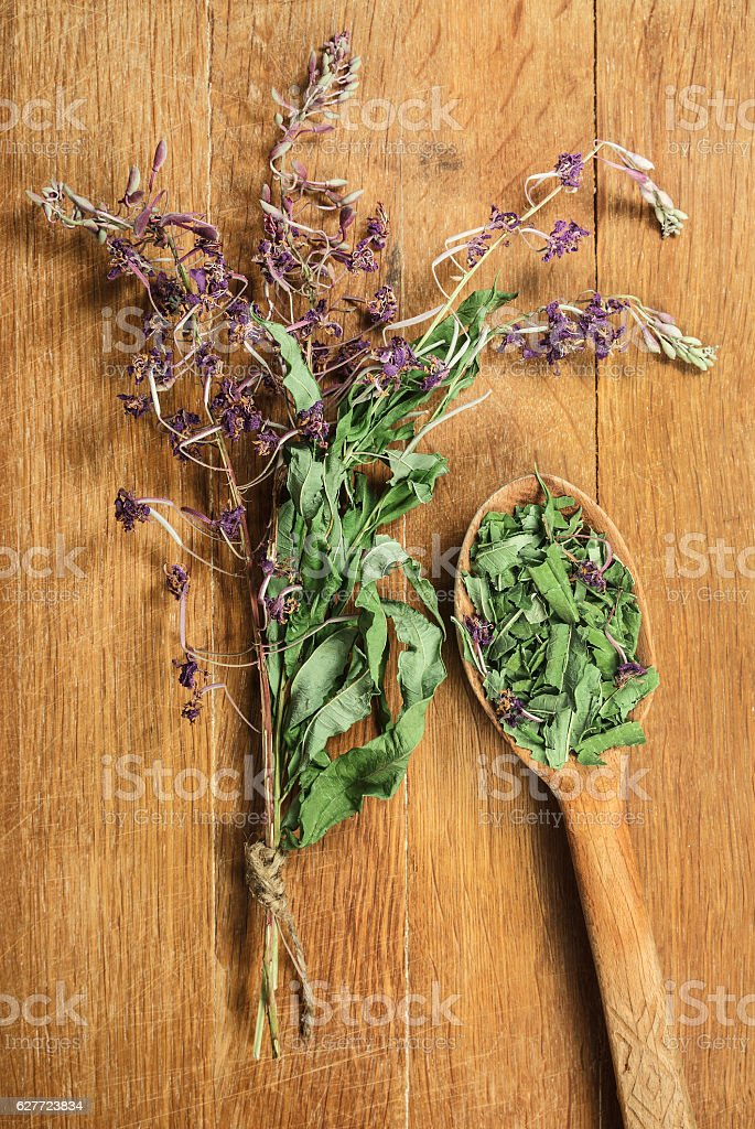Foto de Fireweed Dried Herbs Herbal Medicine Phytotherapy