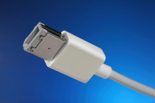 Firewire Cable Stock Photo - Download Image Now