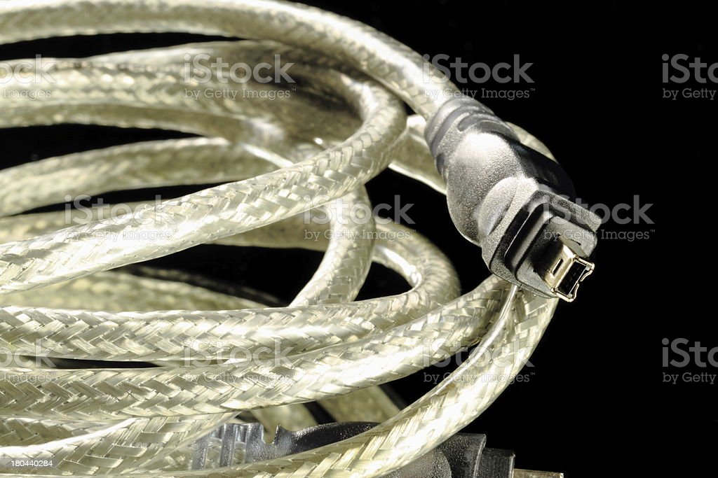 Firewire Cable royalty-free stock photo