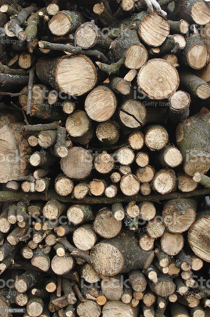 firewood background royalty-free stock photo