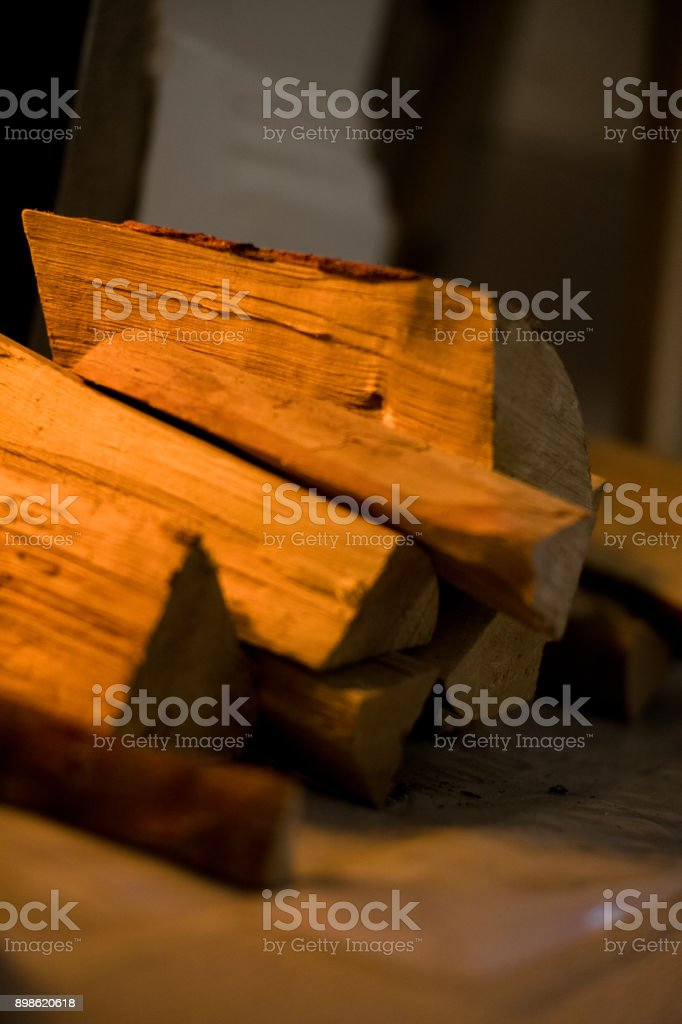 Firewood Logs stock photo