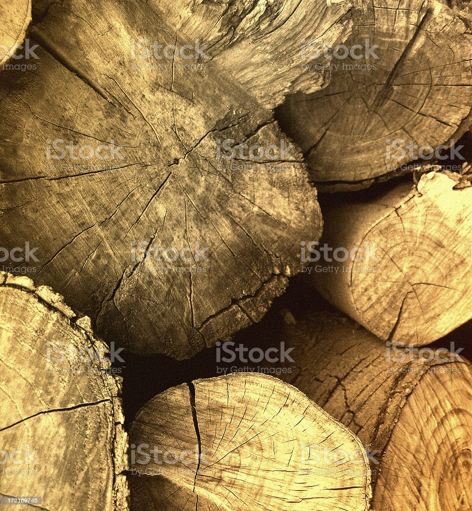 Fire-wood royalty-free stock photo
