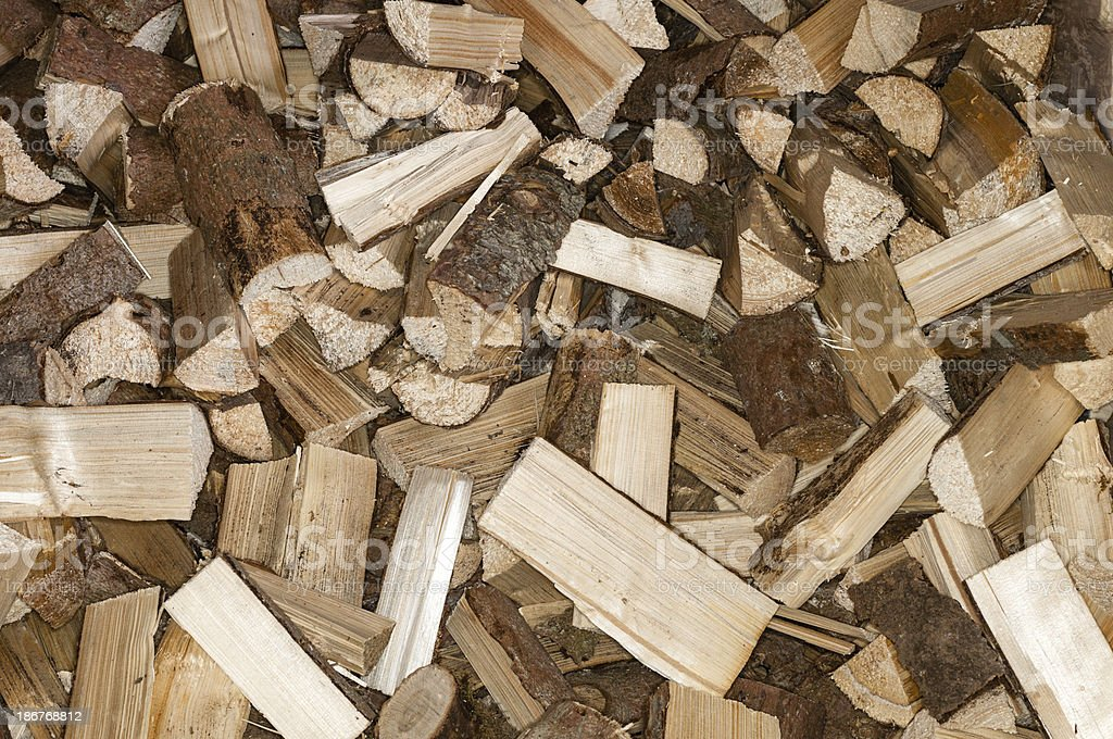 Firewood royalty-free stock photo