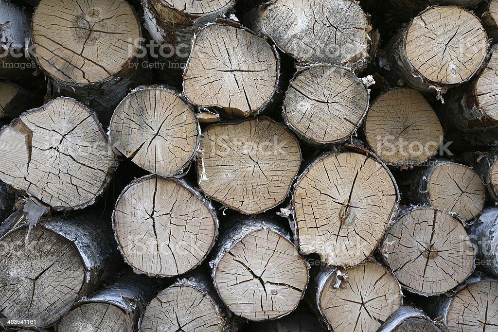 Brennholz royalty-free stock photo
