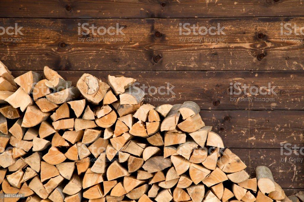 Brennholz Lizenzfreies stock-foto