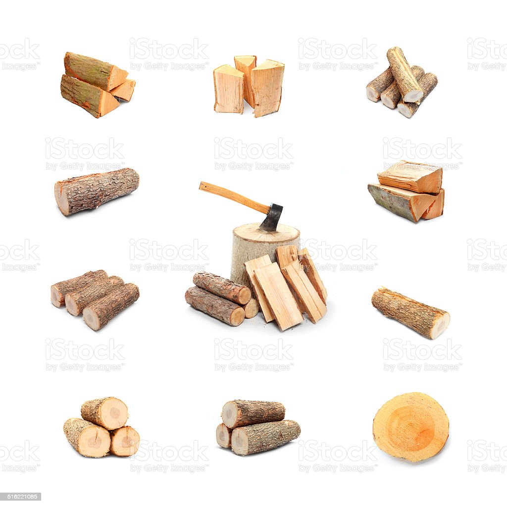 Firewood. stock photo