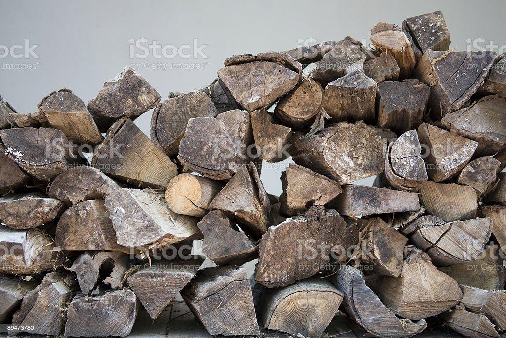 Firewood stock photo