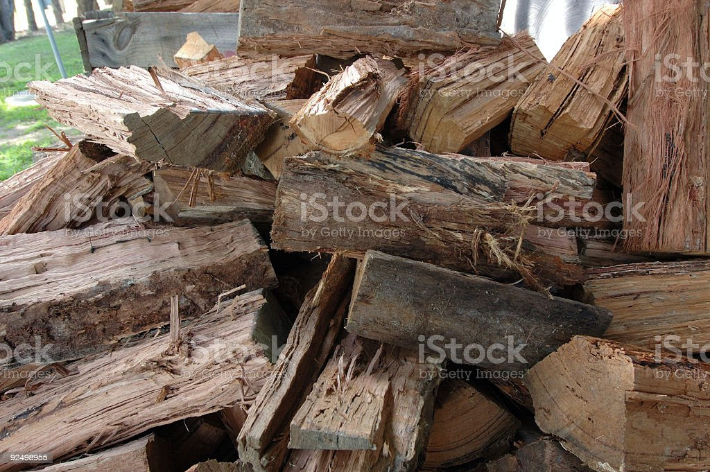 Firewood #1 royalty-free stock photo