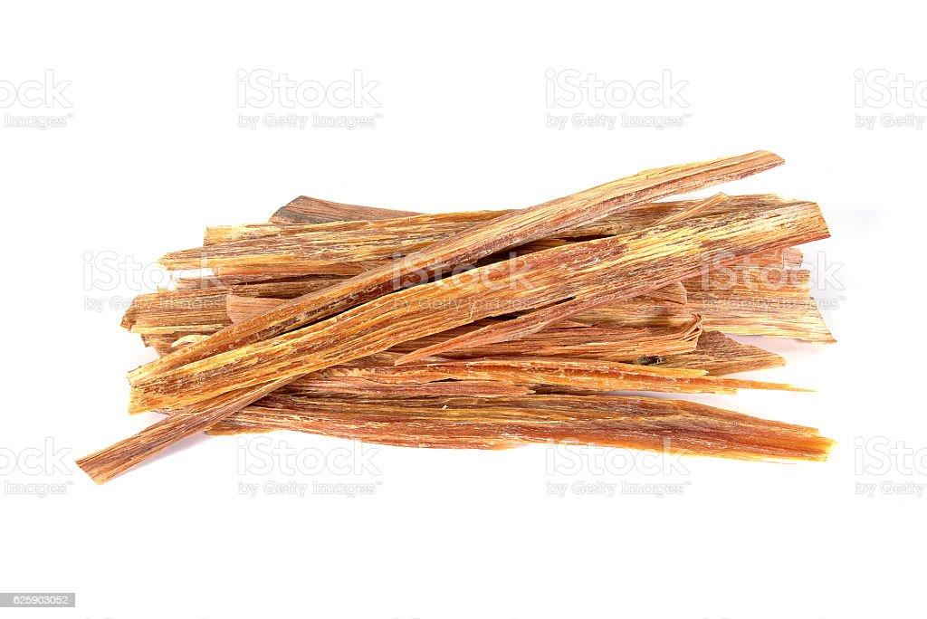 Firewood.Merkus pine.Pinus kesiya Royle ex Gordon.Kesiya pine stock photo