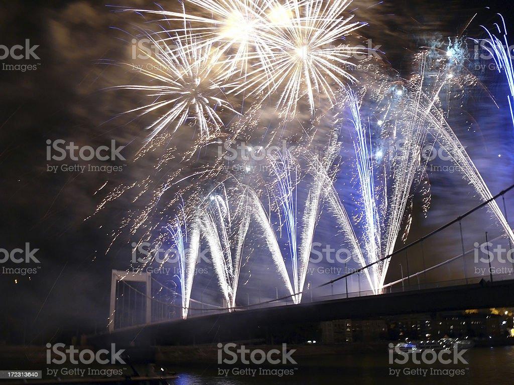 Firework 2 royalty-free stock photo