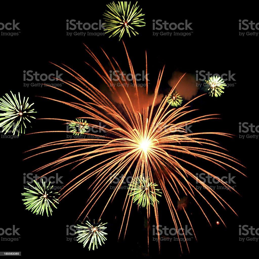 Firework Celebration. royalty-free stock photo