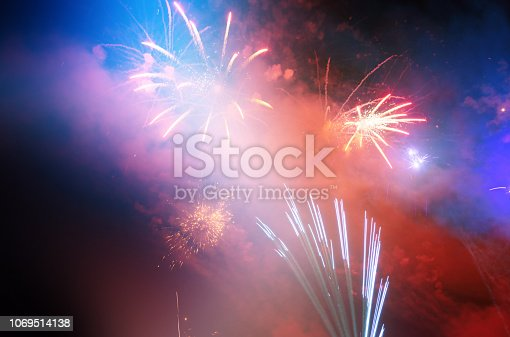 969086552istockphoto Firework Display For Celebration Events 1069514138