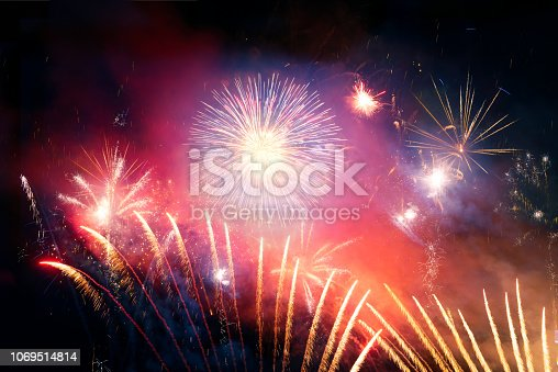 969086552istockphoto Firework Display For Celebration Events 1069514814
