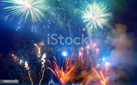 969086552istockphoto Firework Display For Celebration Events 1069523252