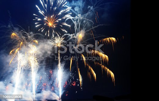 969086552istockphoto Firework Display For Celebration Events 1069523806